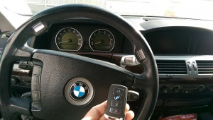 2003 BMW 745i insert remote key keyless remotes, key fob replacements