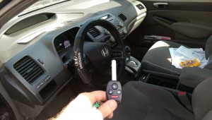 Car Key Replacement 2007 Honda Civic remote key North Hollywood CA
