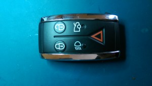 2009 Jaguar XF smart key