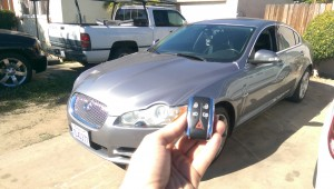 2009 Jaguar XF smart key made
