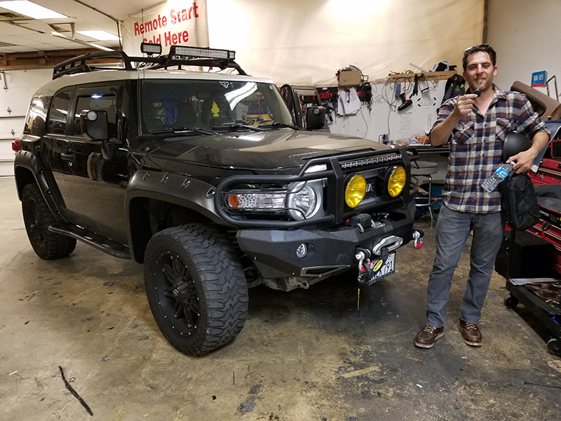 2010 Toyota FJ Cruiser locksmith
