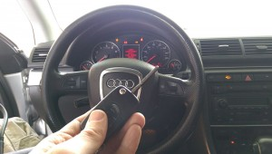 2006 Audi A4 Car Key Replacement