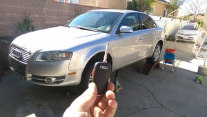 Audi LOCKSMITH LA remote key