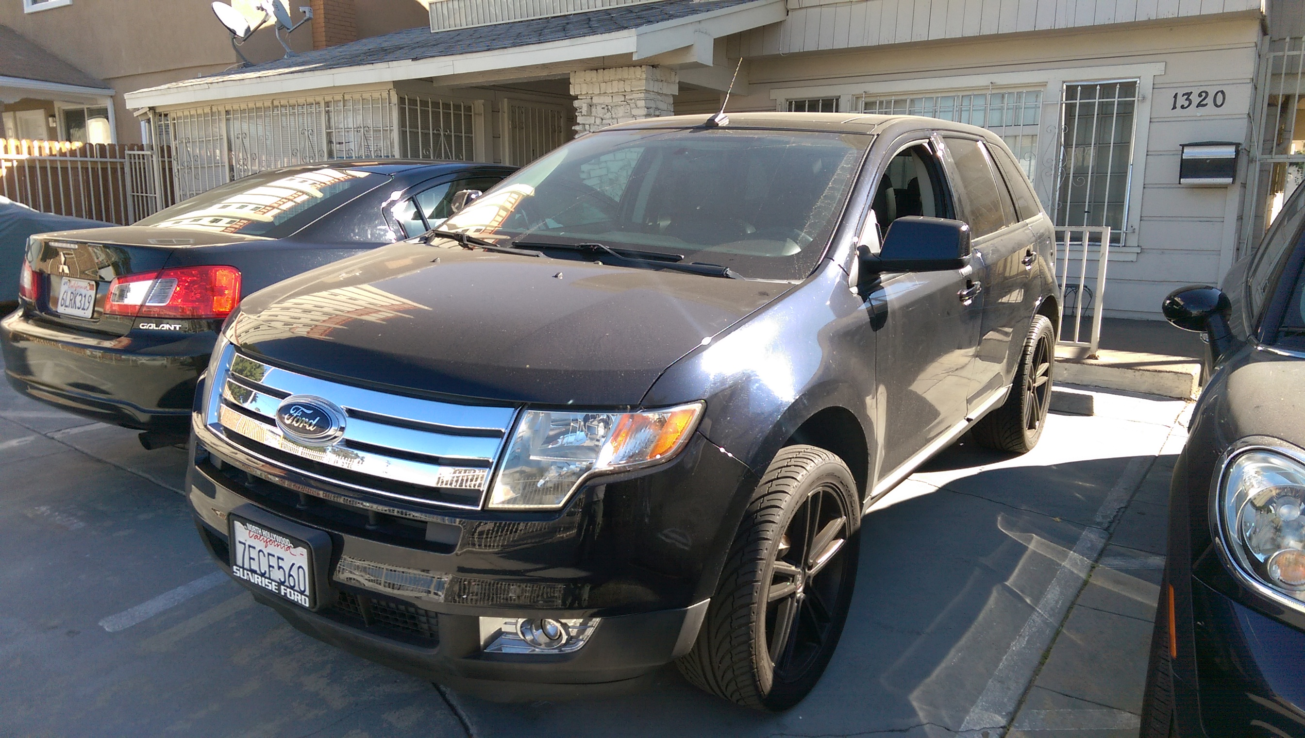 Ford Edge New key lock smith