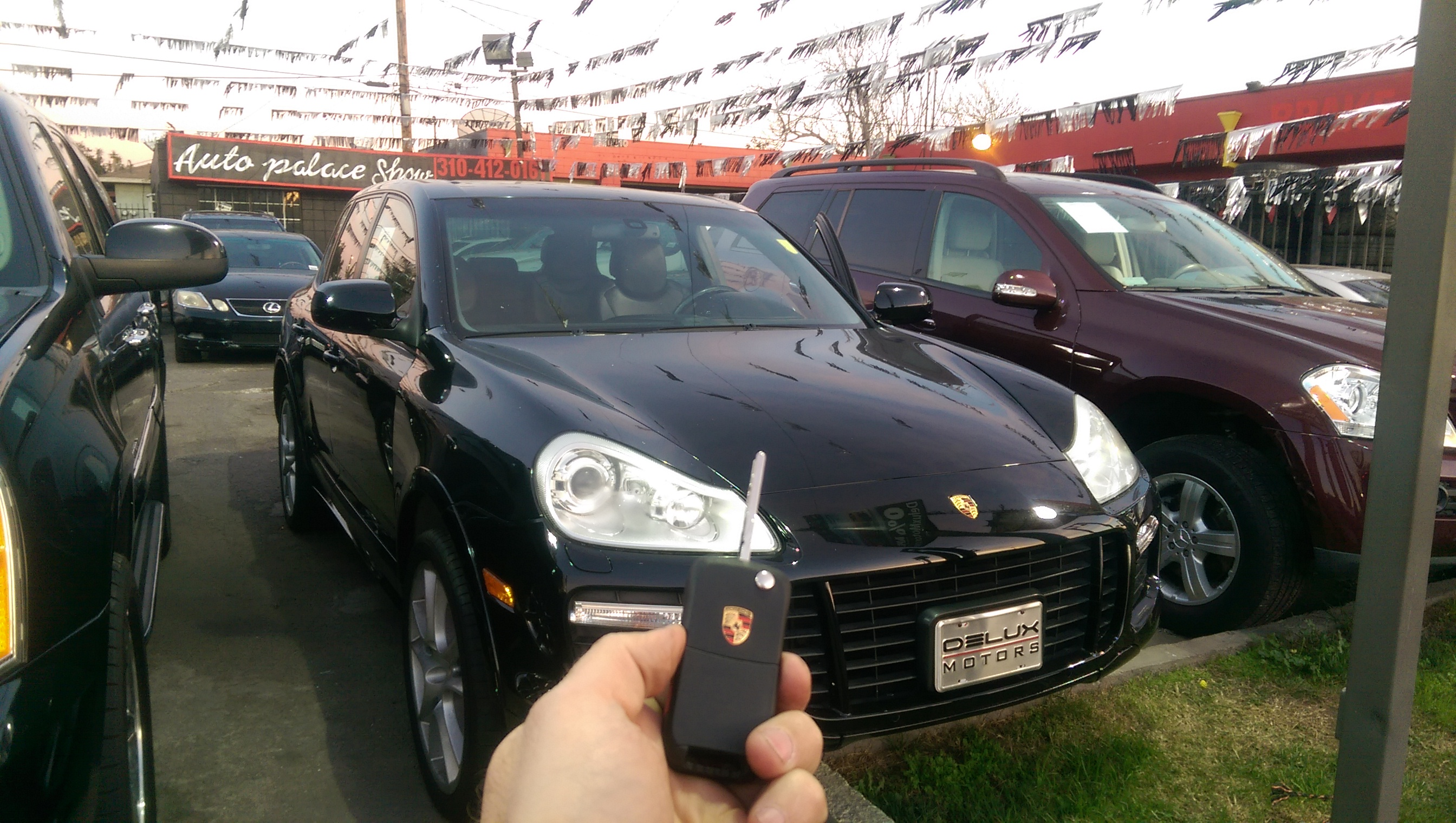 Porsche Cayenne remote key car lock smith