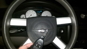 Chrysler 300 remote key