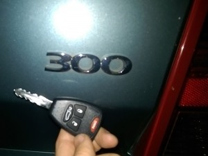 Chrysler remote key