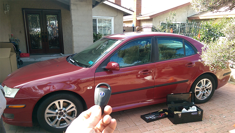 Car Key Replacement saab car locksmiths los angeles
