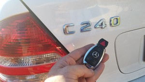 2004 Mercedes C240 locksmith
