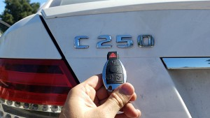 2014 Mercedes C250 locksmith