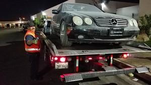 2000 Mercedes CL500