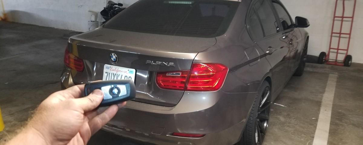 2013 BMW 330i Smart key