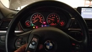 BMW Alpina Smart key