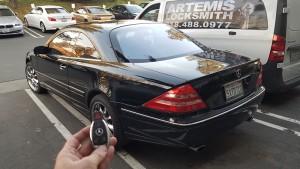 Mercedes car key services