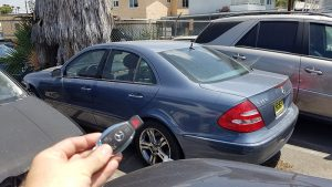 2006 Mercedes E350 Car Key Replacement