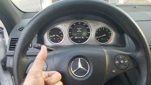 2008 Mercedes C300 ESL repair los angeles locksmith