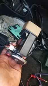 Mercedes Electronic steering lock repair