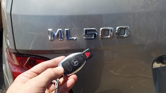 Keyless Remotes Mercedes ML500