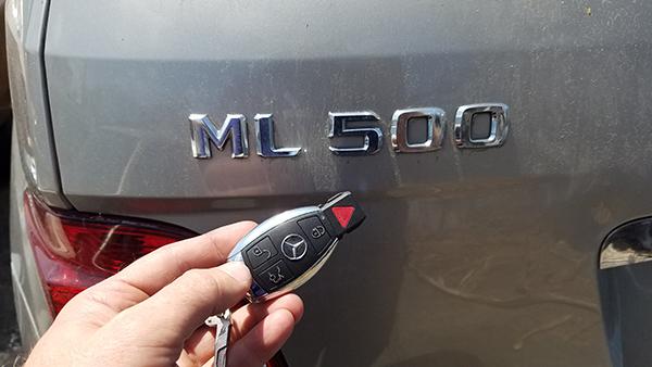 Keyless Remotes Mercedes ML500