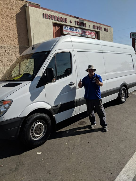 2013 Mercedes Sprinter making new key