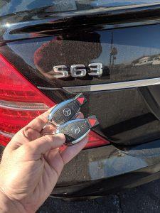 2012 Mercedes S63 Duplicate Car Key Services
