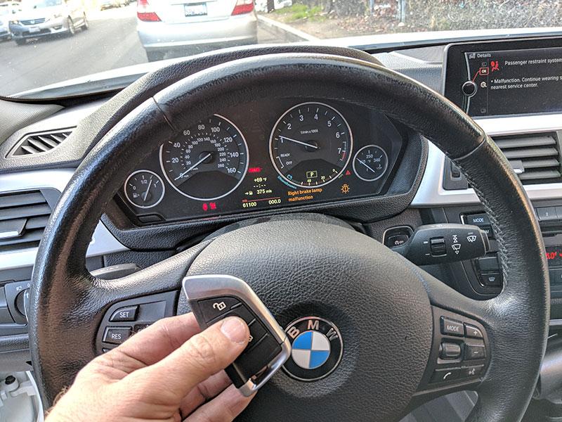 2013 BMW 328i FEM system Smart key locksmith reseda