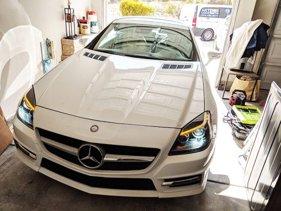 2014 Mercedes SLK250 locksmith