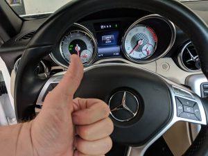 2014 Mercedes SLK250 locksmith Castaic