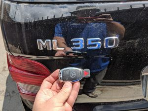 2007 Mercedes ML350 car locksmith
