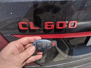 2007 Mercedes CL600 car key replacement Van Nuys