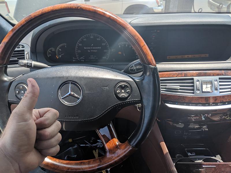 2007 Mercedes CL600 locksmith Van Nuys
