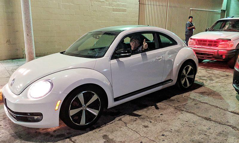 2012 VW Beetle happy locksmith client