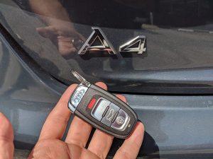 2009 Audi A4 smart key locksmith