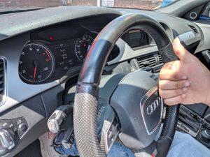 2009 Audi A4 smart key locksmith Key with comfort access Valley Village 91607