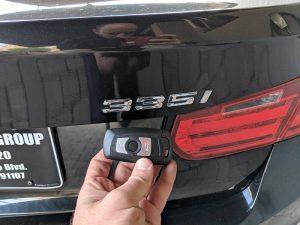 2016 BMW 335i Glendale Car Locksmith
