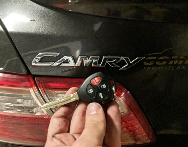 2007 Toyota Camry Remote Key made in Marina Del Ray