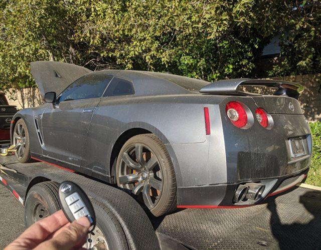 2009 Nissan GT-R smart key Granada Hills