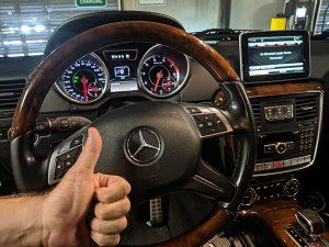 2014 Mercedes G63 Los Angeles Locksmith