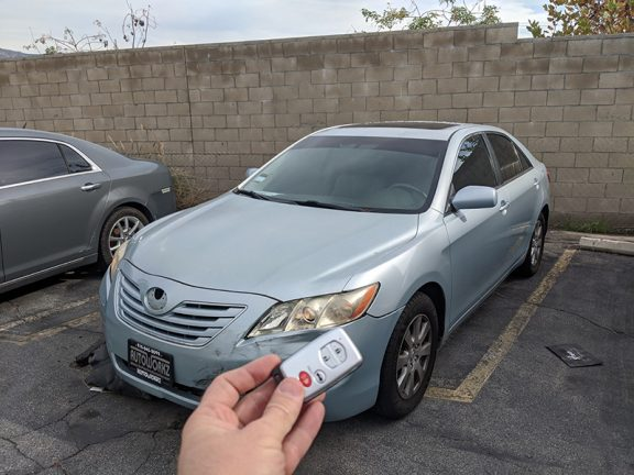 2007 Toyota Camry smart key Locksmith in Burbank, CA