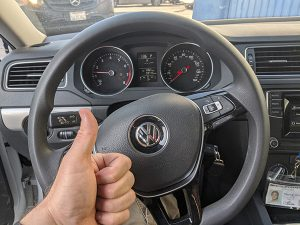 2017 VW Jetta remote key MQB system done by locksmith
