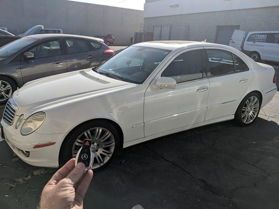 2007 Mercedes E350 Burbank CA LOCKSMITH