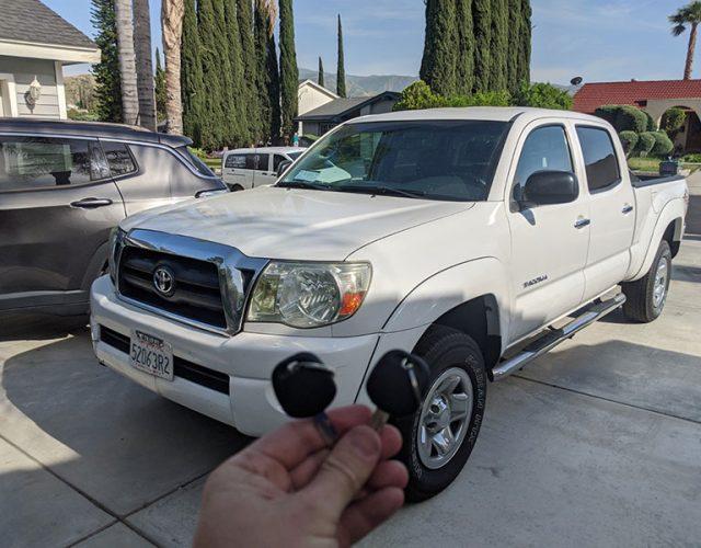 2005 Toyota Tacoma Santa Clarita Duplicate Car Key Services