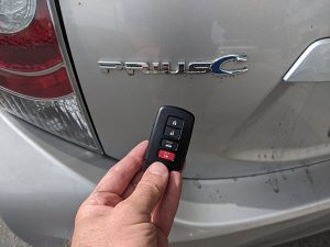 Toyota Prius-C Smart Key locksmith