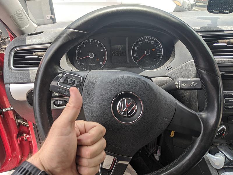 2013 VW Jetta remote key Valet key Locksmith Los Angeles