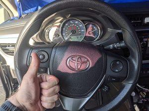 Toyota Corolla pink remote key Locksmith Winnetka
