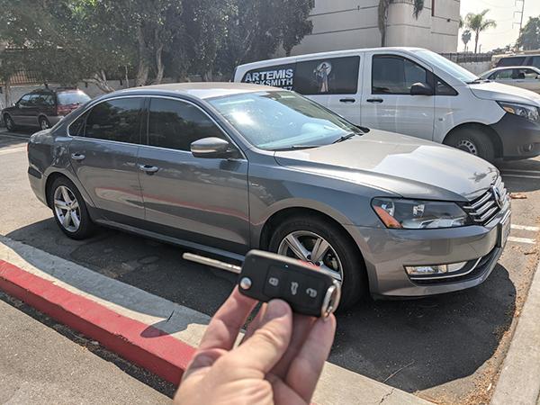 2015 VW Passat smart key Inglewood locksmith