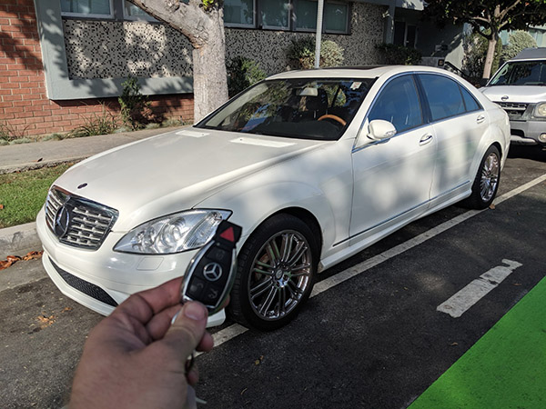 2008 Mercedes S550 Santa Monica Locksmith