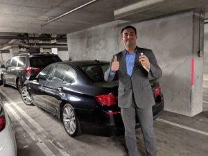 2012 BMW 535i proximity key Hollywood CA