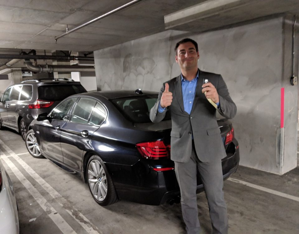 2012 BMW 535i proximity key Hollywood CA